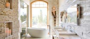 Melton Design Build - Home Bathroom Remodel - Luxury Spa
