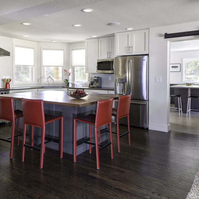 Family Central Home Remodel Boulder Colorado Melton Design Build