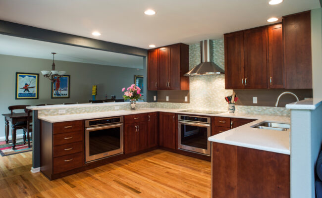 Melton Design Build Home Remodel Wood Flooring