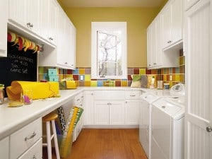 Craft room, laundry room