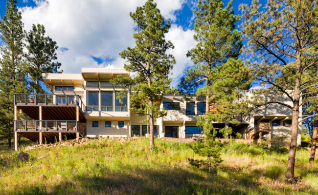Custom Home Melton Design Build Overall Exterior Image