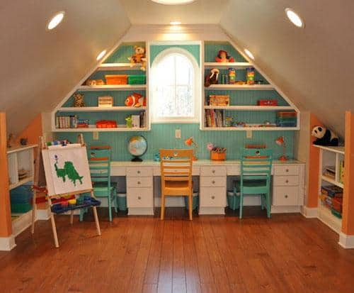 kids' playroom Boulder