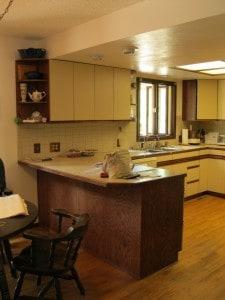 Full kitchen before photo