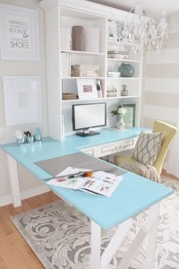 Pretty traditional home office