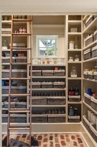 Walk in pantry kitchen remodel