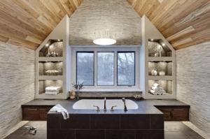 Spa-like bathroom retreat