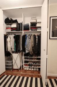 apartmenttherapy.com- Small closet organization