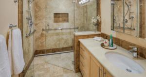 houzz.com- clear entry shower