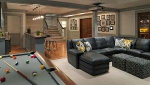 entertainment basement