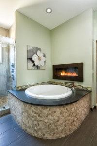 Melton Design Build- Master Bathroom Soaking Tub