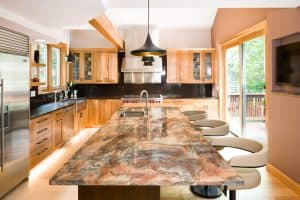 Melton Kitchen Renovation- Island