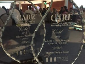 2016 CARE Awards Trophies