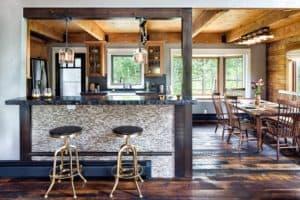 Melton Design Build - Rustic Refresh - Kitchen Bar View