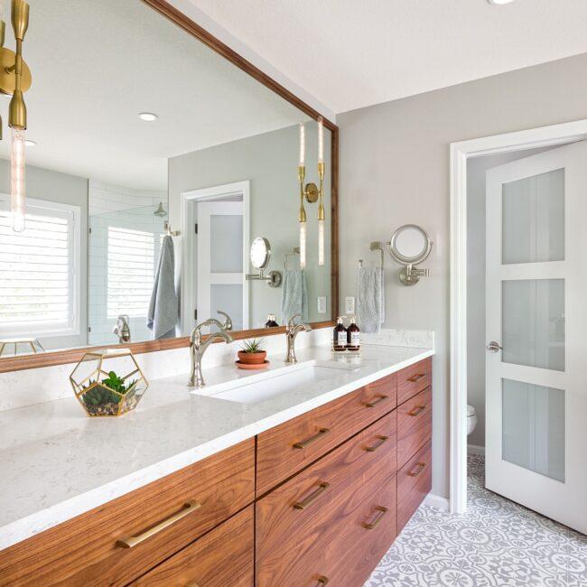 Private Retreat Melton Design Build Boulder Colorado Master Bathroom Remodel