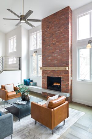 Melton Design Build Boulder Colorado Whole Home Remodel Fireplace