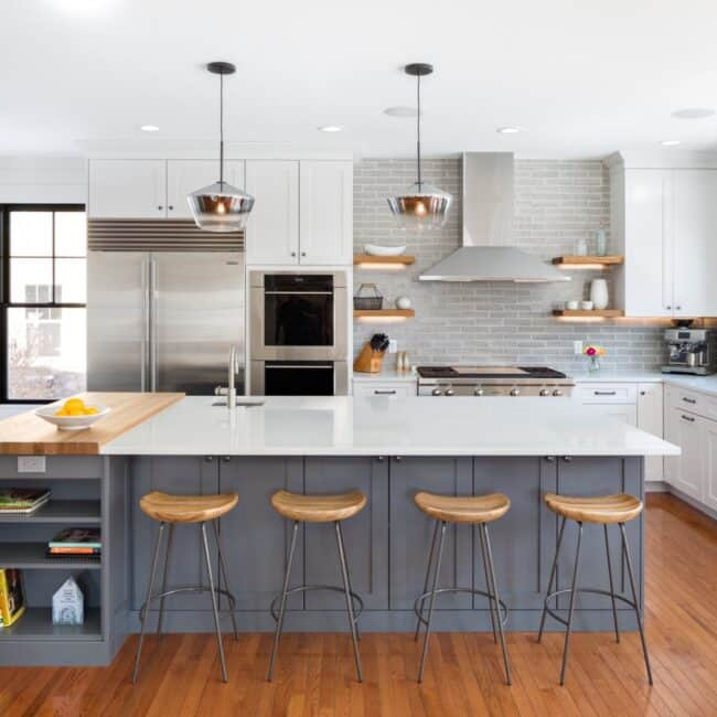 Modern Farmhouse Melton Design Build Kitchen Remodel Boulder Colorado