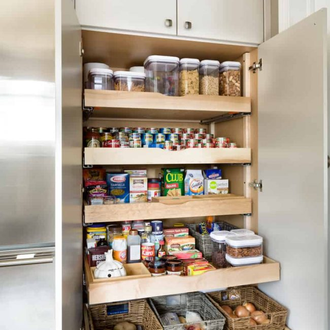 After- Pantry Organization