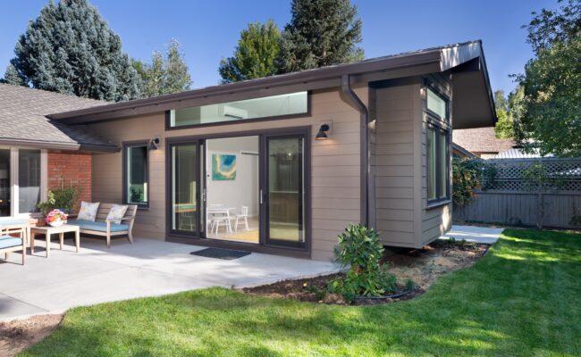 Melton Design Build Boulder Colorado Home Remodel Exterior