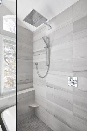 Melton Design Build Boulder Colorado Home Remodeler Master Bathroom Remodel Renovation Serene Modern Eastern