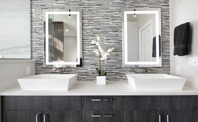 Melton Design Build Master Bathroom Boulder Colorado Remodel Eastern Serene