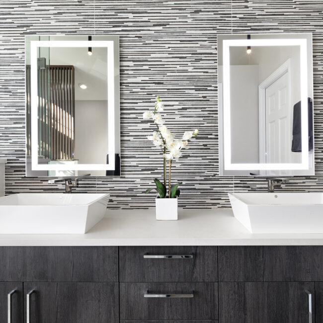 Melton Design Build Master Bathroom Boulder Colorado Remodel Eastern Serene