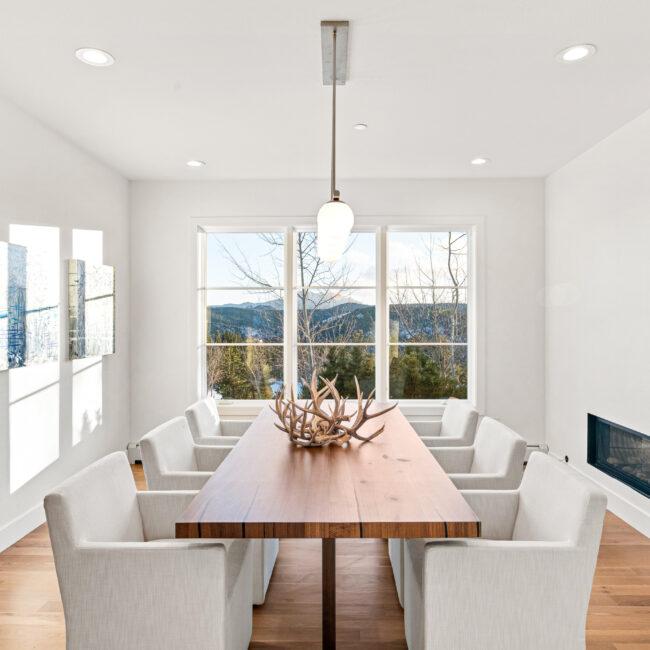 Custom Mountain Home - Dining Room