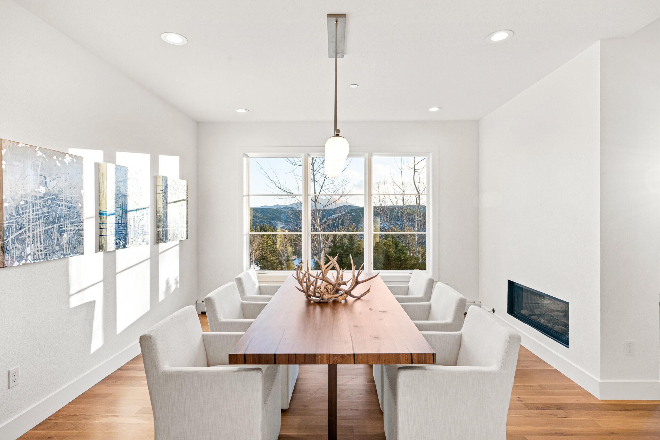 Custom Mountain Home - Dining Room