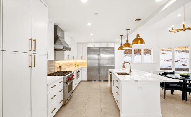 Custom Mountain Home - Kitchen Overall