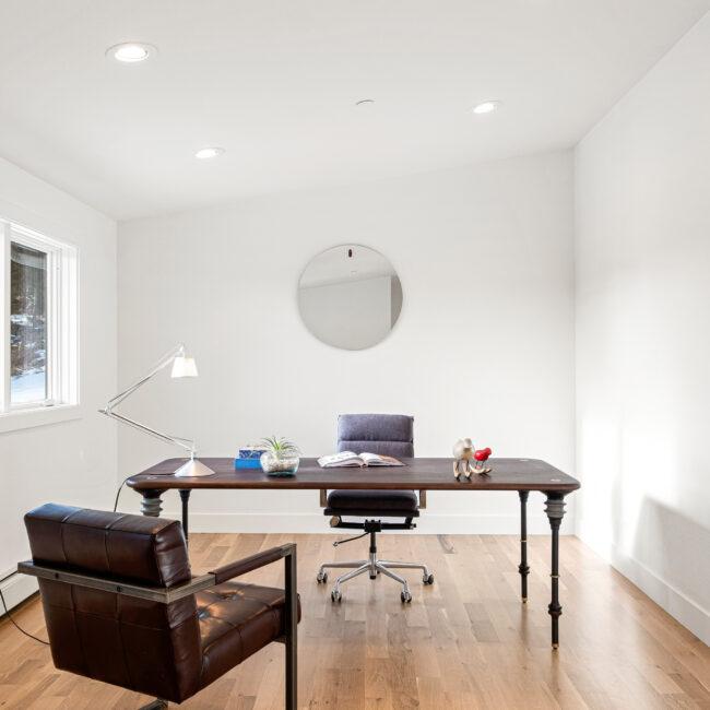 Custom Mountain Home - Home Office