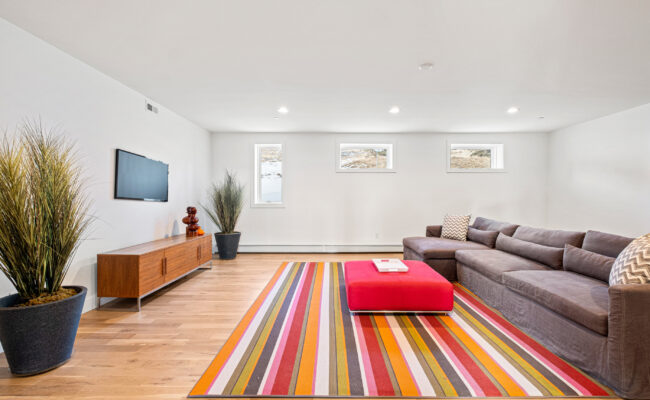 Custom Mountain Home - Entertainment Room