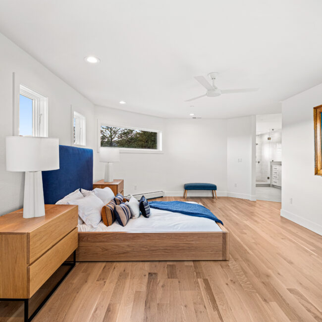 Custom Mountain Home - Primary Bedroom