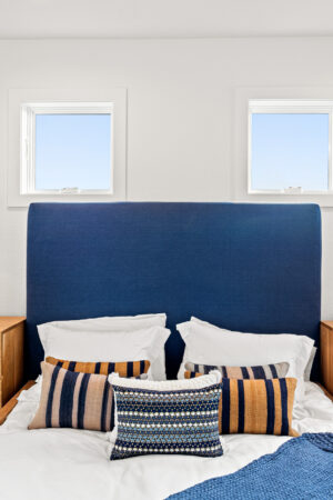 Custom Mountain Home - Primary Bedroom Bed View
