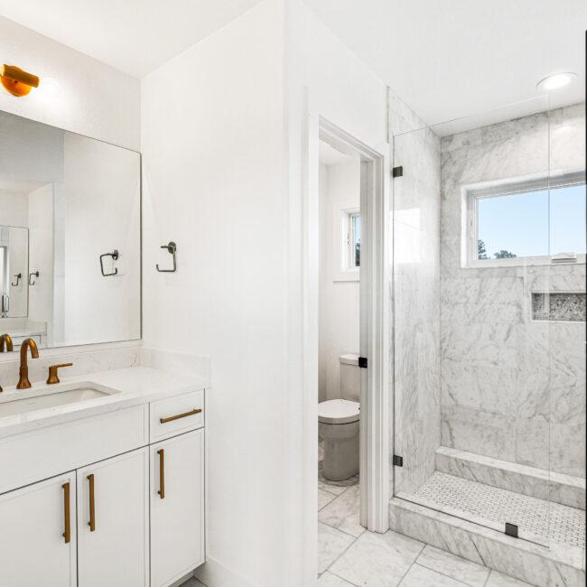 Custom Mountain Home - Secondary Bathroom Vanity Detail