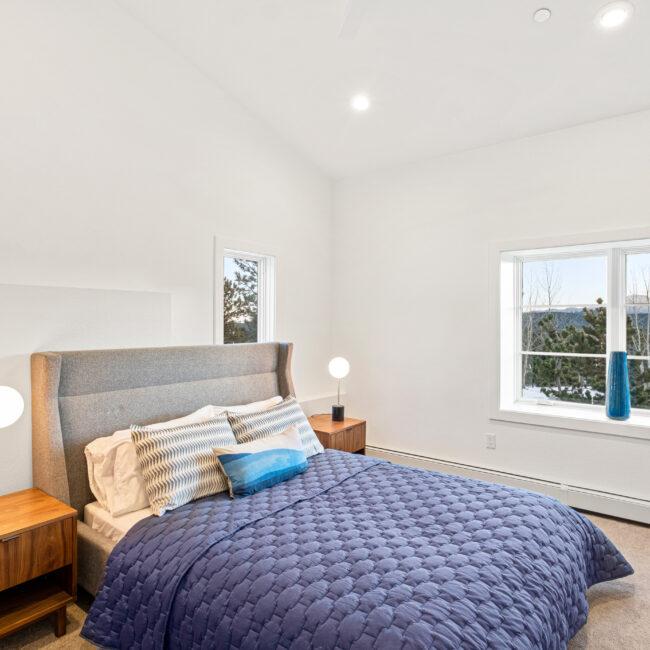 Custom Mountain Home - Guest Bedroom