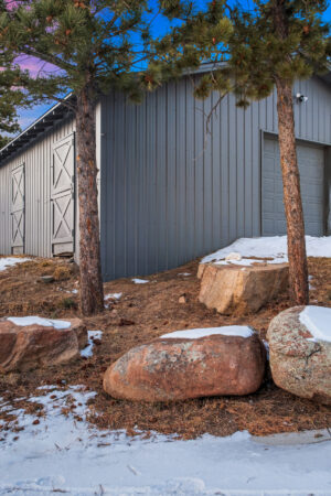 Custom Mountain Home - Utility Garage Barn