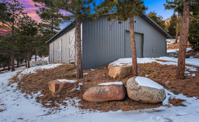 Custom Mountain Home - Utility Garage Barn