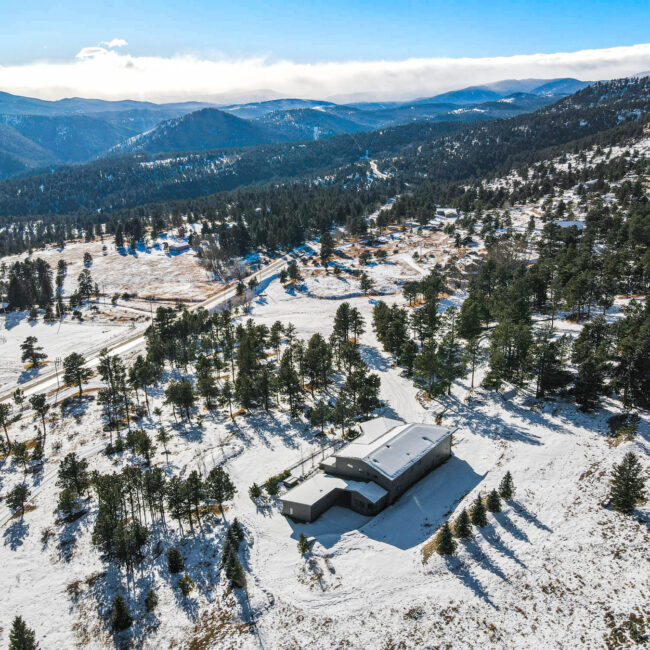 Custom Mountain Home - Arial View of Property