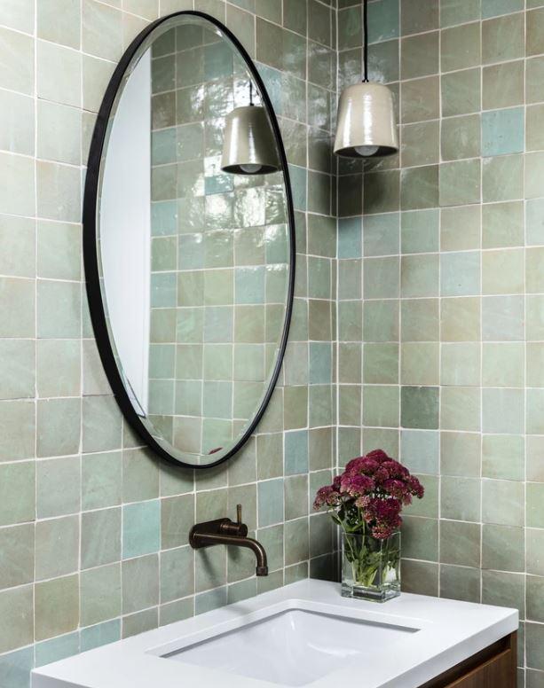 Gradient Tile Bathroom Remodel Melton Design Build