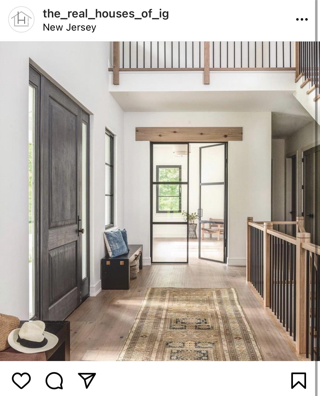Melton Design Build Big Door Home Office