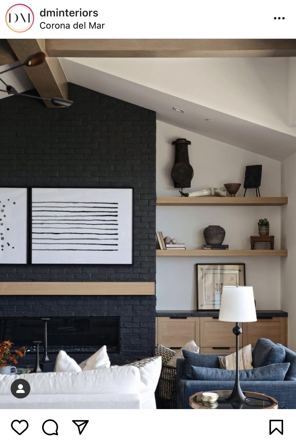 Melton Design Build Painted Brick Home Remodel