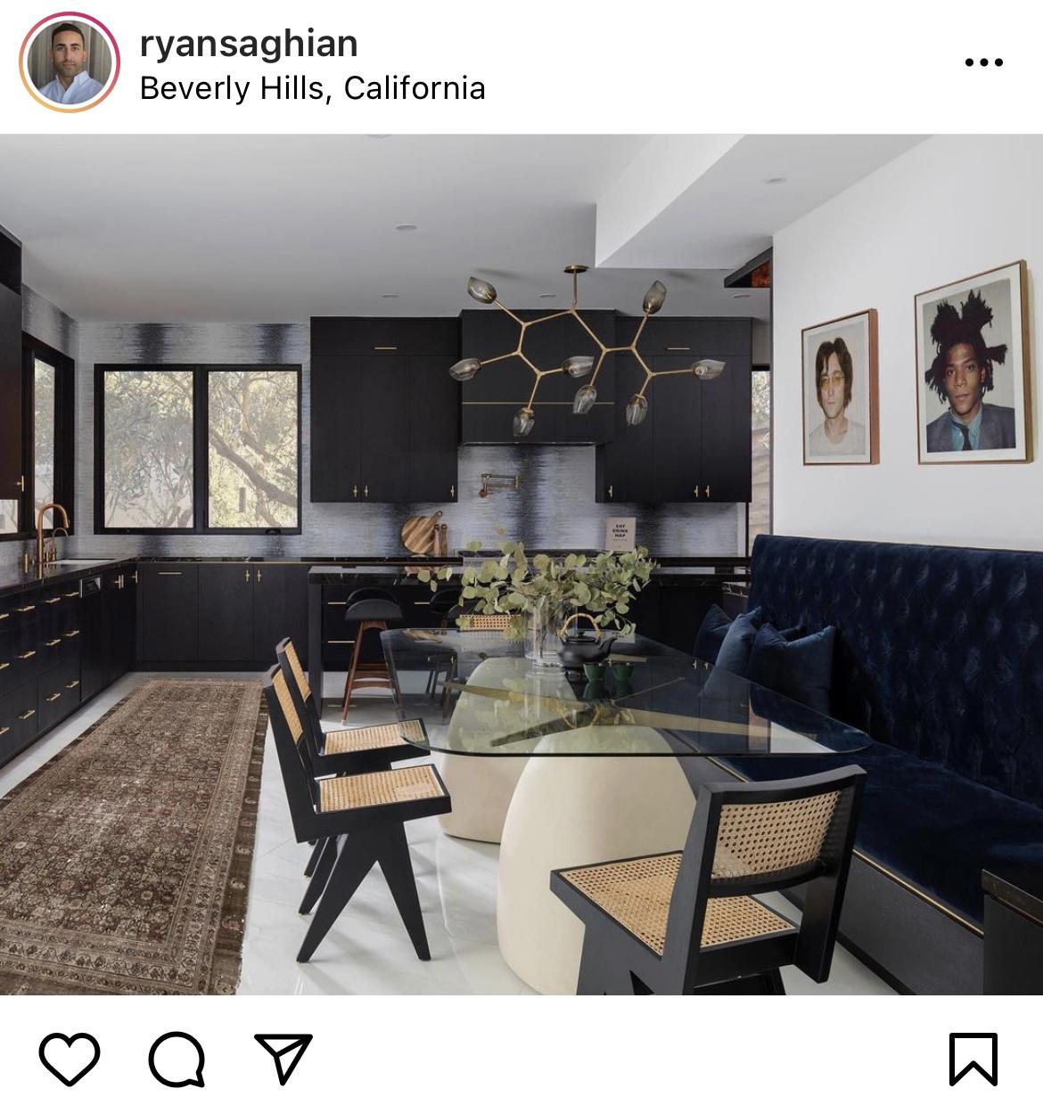 Melton Design Build Black Accents Kitchen Remodel